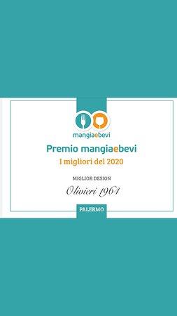 Premio #mangiaebevi come miglior design 2020