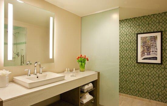 Guest Bathroom Deluxe Hotel Room