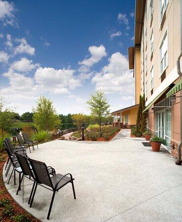 Hotel Indigo Jacksonville Outdoor Patio adjacent to Banquet Rooms