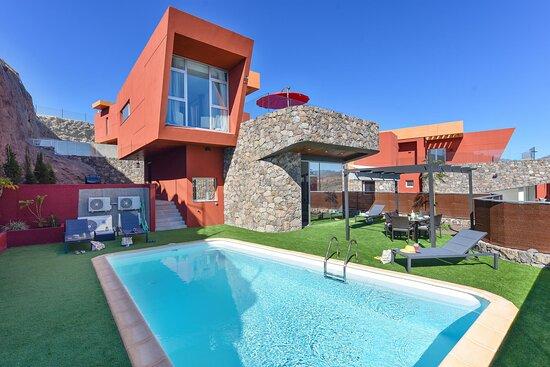 Fachada Villa Green 8 Salobre Resort