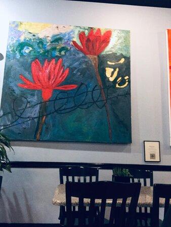 Local artists' work