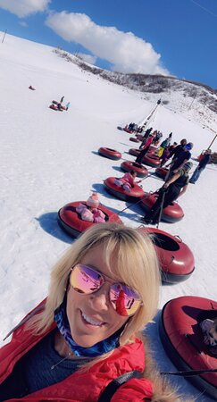 We had a blast! The mint cookie shot was amazing!  Not too crowded. 3 different levels of tubing runs! ❣️❣️❣️