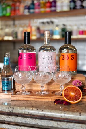 It's a paddling. A gin paddling. Choose your own adventure with any 3 gins. Get familiar with Australian botanicals and their unique flavour profiles. Each paddle comes with 3 gins curated garnishes & a bottle of Fever Tree premium tonic. Why settle for one G&T when you can have 3 !