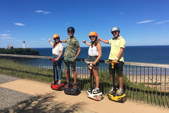 Unusual Guided Tour in a Segway in Biarritz