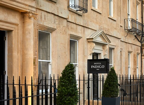 Hotel Indigo Bath Main Entrance