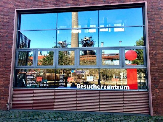 Besucherzentrum im Landschaftspark Duisburg-Nord.
