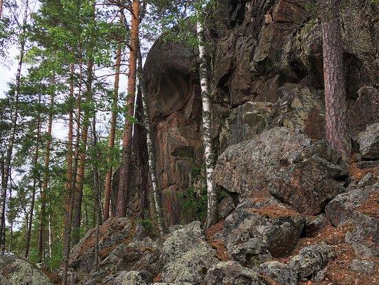 Syrjäsalmen Kalliomaalaus, Saimaa Geopark