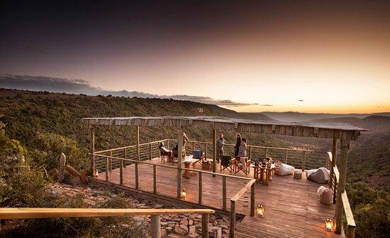 Sky Lodge Champaigne Deck