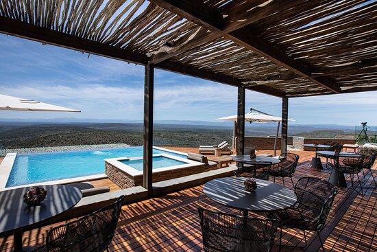 Sky Lodge Deck and Pool