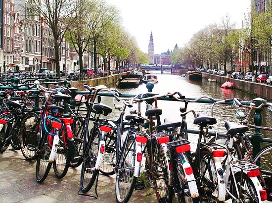 Amesterdão, Países Baixos: Sharing a pic clicked by me in Amsterdam, Netherlands ! Amsterdam has been amongst the top cities in the world for bicycles and Netherlands is the top country with bicycle owners !