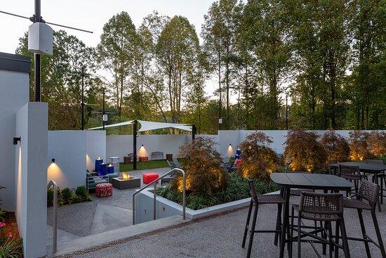 Expansive Outdoor Entertainment Area