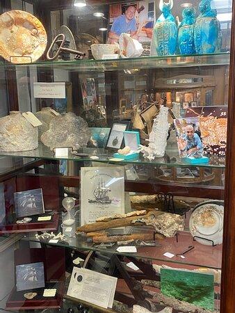 Unique shipwreck items