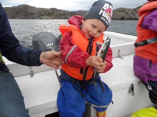 Hardbakke, Norway: fiskelykke