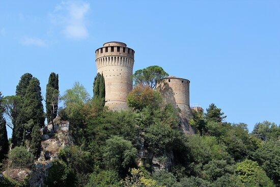 Brisighella, Italy: la rocca vista dal basso