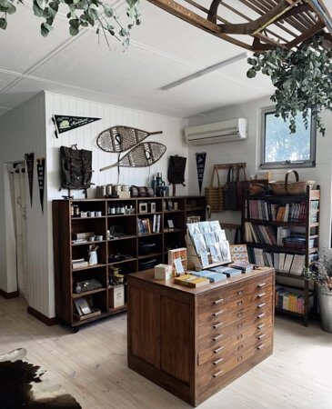 Love this shop! Birdwatching, mushrooming and camping - I want it all!