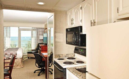 Ocean Front King Room Efficiency Kitchenette