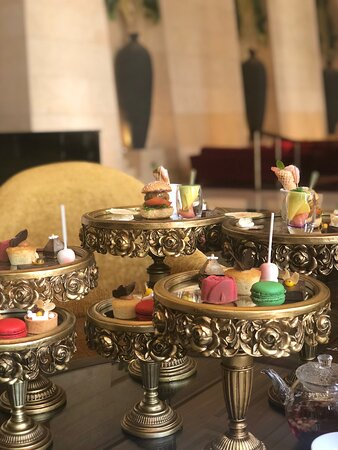 Spa and afternoon tea