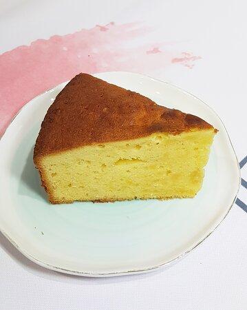 柚子果香蛋糕