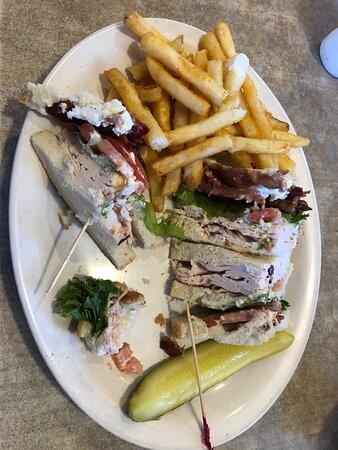 Gansevoort, État de New York : Delicious club sandwich