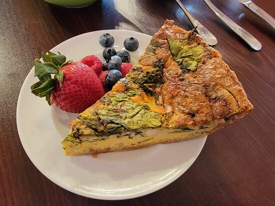Quiche - Spinach and Blue Cheese