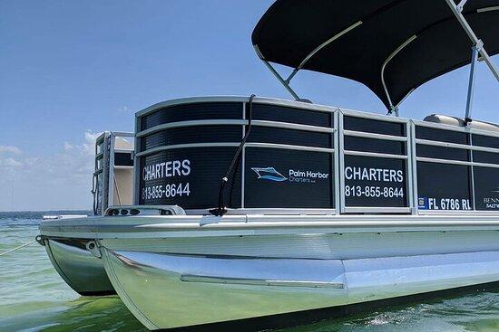 20' Pontoon Boat Rental in Florida