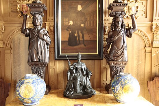 Leeds, West Yorkshire, England, United Kingdom, Temple Newsam House - interiors.