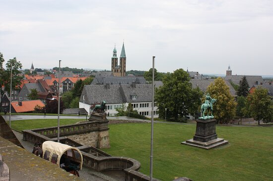 Imperial Palace, view on Marktkirche