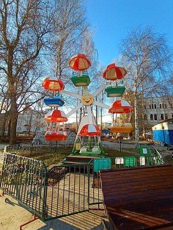 Рыбинский городской сквер