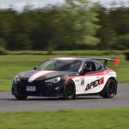 Join us for a track day or rent our car.