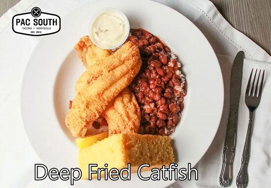 Deep Fried Catfish Dinner