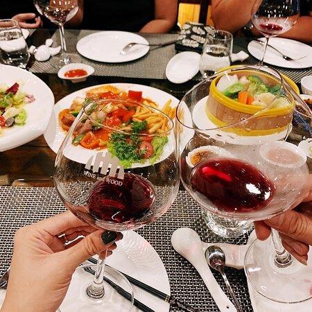 Enjoying Western Wines with Eastern Specialities