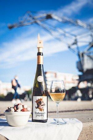 """Notre gamme de vins bios """"Trebogad"""" à Strasbourg."""