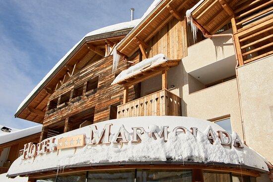 Foto de Hotel Marmolada, Corvara: Hall - Tripadvisor