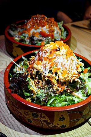 📍龍卷風沙律($78)  Crazy Salad(Lettuce, Seaweed, Crab Fillet, Chips)