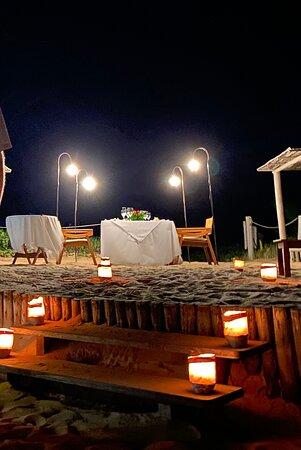 Jantar romantico...