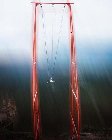 Una de las mejores experiencias y actividades al aire libre en San Ignacio.  Fue fenomenal, una actividad llena de adrenalina, bueno, no solo una, hay cuatro actividades como el Columpio, Puente Tibetano, Bicicletas Extremas y entre otras.  Recomendado San Ignacio Extremo.