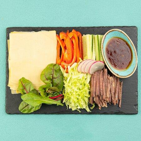 кантофу с овощами