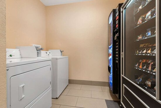 Laundry and vending area