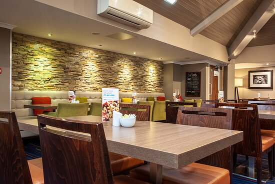 Dinner options available at Holiday Inn Express Edinburgh Airport