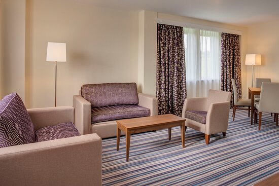 Lounge area in our Suite