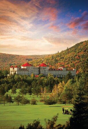 Fall at Omni Mount Washington Resort