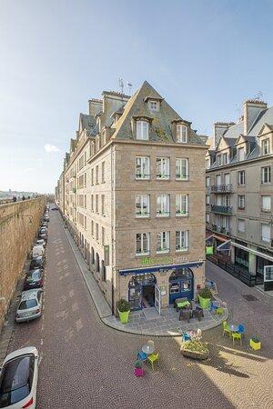 Façade Ibis Styles Saint Malo Centre Historique