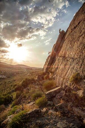 San Vicente de Alcantara, Espanha: Alcanzando la cima