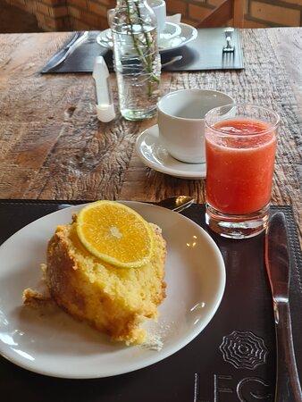 Café da Tarde( Bolo de laranja SENSACIONAL !!! )