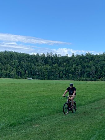 The grass is always greener when you're riding an e-bike.