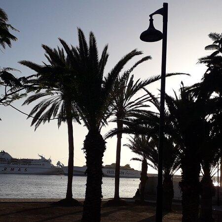 Los Cristianos, Spain: Evening Walk