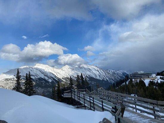 Banff Gondola Ride Admission: The top of the Gondola ride