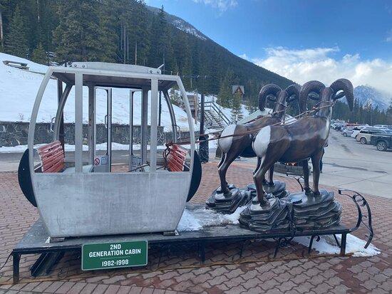 Banff Gondola Ride Admission: Old gondola