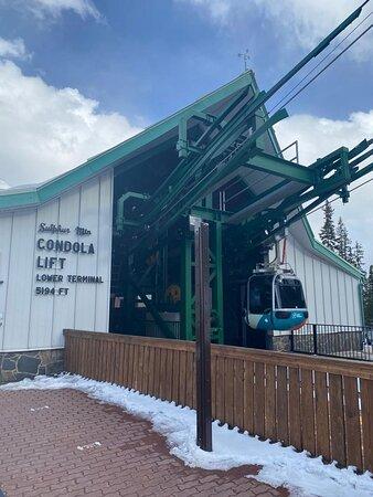 Banff Gondola Ride Admission: Gondola station