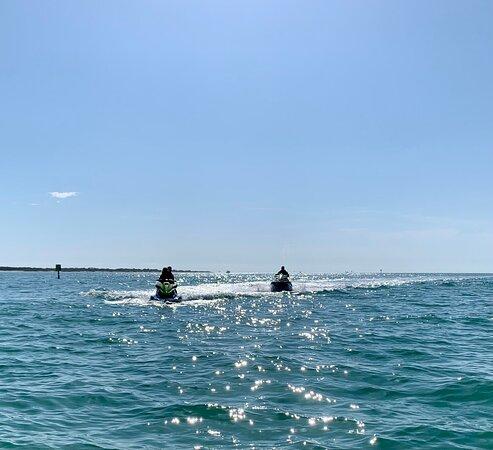 Family fun on the water